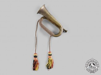 Poland, Republic. A Regimental Bugle, c.1940