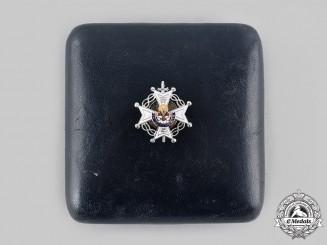 Spain, Fascist State. An Order of Saint Raymond of Peñafort with Case, Miniature, by Villanueva & Laiseca c.1950