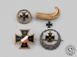 Germany, Imperial. A Lot of First War Badges