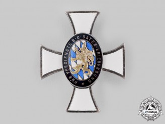 Bavaria, Kingdom. A Veterans Association Cross for Exceptional Merit by Deschler & Sohn