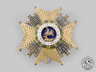 Spain, Fascist State. An Order of St. Hermenegildo, Commander's Star, c.1950
