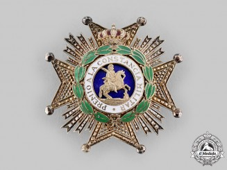 Spain, Kingdom. An Order of St. Hermenegildo, Grand Cross Star, c.1900