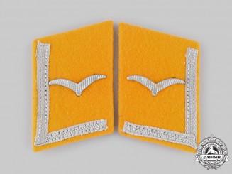 Germany, Luftwaffe. A Set of Flight Personnel Unteroffizier Collar Tabs