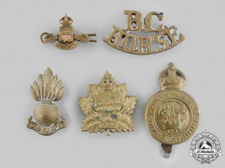 Canada, Commonwealth. A Lot of Five Badges