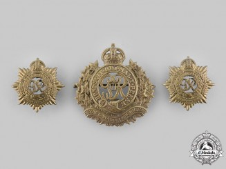 Canada, Commonwealth. Three Second War Era Badges