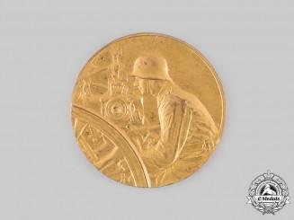Germany, Weimar Republic. A 1926 Reichsheer Artillery Marksmanship First Place Medal