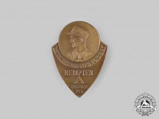 Germany, SA. A 1934 Sturmabteilung (SA) Meeting Badge