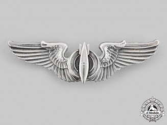 United States. An Army Air Force Bombardier Badge