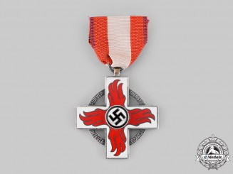 Germany, Third Reich. A Fire Brigade Honour Badge, II Class
