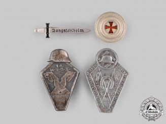 Germany, Third Reich. A Group of Veterans Badges