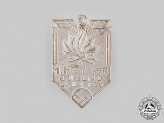 Germany, HJ. A 1933 Youth Festival Badge