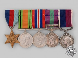 United Kingdom. A Long Service Medal Group to Warrant Officer G.E. Jones, Royal Air Force