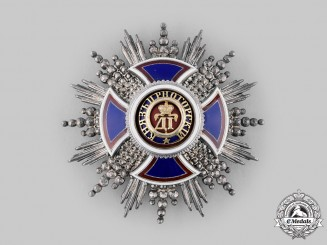 Montenegro, Kingdom. An Order of Danilo, I Class Star, by Vinc. Mayer's Sohne, c.1910