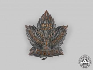 "Canada, CEF. A 225th Infantry Battalion ""Kootenay Battalion"" Cap Badge, c.1916"