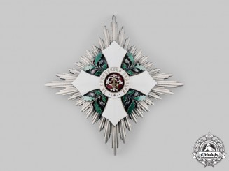 Bulgaria, Kingdom. An Order of Civil Merit, Commander's Star, by Johann Schwerdtner, c. 1900