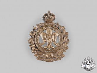 Canada, CEF. A 230th Infantry Battalion Cap Badge, by Birks, c.1916