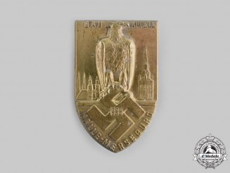 Germany, NSDAP. A 1933 Halle-Merseburg Gau Muster Badge