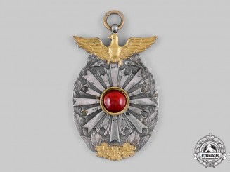 Japan, Empire. A Rare Presentation Medal to Major General Charles Andrew Willou