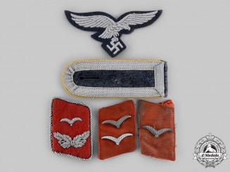 Germany, Luftwaffe. A Lot of Rank Insignia