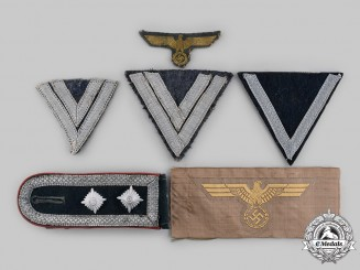 Germany, Wehrmacht. A Lot of Wehrmacht Uniform Insignia