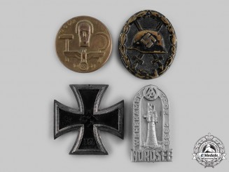 Germany, Third Reich. A Lot of Badges and Medals