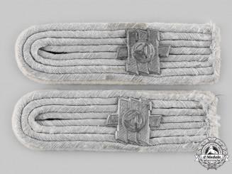 Germany, Heer. A Set of Feldherrnhalle Infantry Regiment Leutnant Shoulder Boards