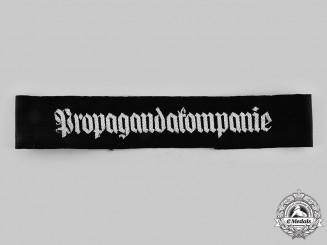 Germany, Wehrmacht. A Rare Propagandakompanie Cuff Title