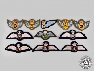 United Kingdom. A Lot of Eleven QEII Era Royal Air Force and Royal Army Air Corps Badges