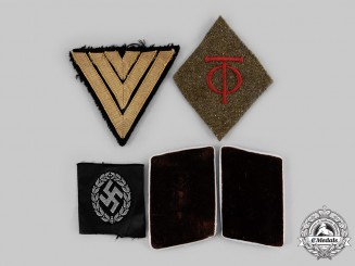 Germany, Third Reich. A Lot of Cloth Insignia