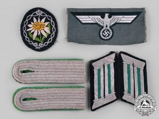 Germany, Heer. A Lot of Gebirgsjäger Uniform Insignia