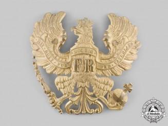 Prussia, Kingdom. An Infantry Pickelhaube Helmet Plate