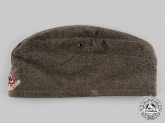 Germany, RAD. A Reich Labour Service (RAD) Baden District EM/NCO's Overseas Cap