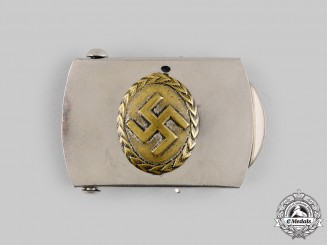 Germany, Third Reich. A NSDAP Supporter's Belt Buckle