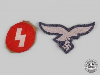 Germany, Third Reich. A Pair of Uniform Insignia