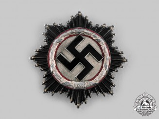 Germany, Wehrmacht. A German Cross in Silver, by Deschler & Sohn, München