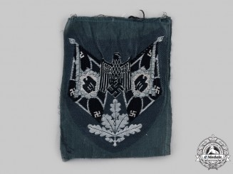 Germany, Heer. An Infantry Standard Bearer's Sleeve Insignia