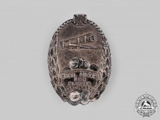 Germany, Weimar Republic. A Luftstreitkräfte Veteran's Badge by Deschler & Sohn