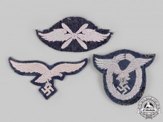 Germany, Luftwaffe. A Lot of Cloth Badges and Insignia