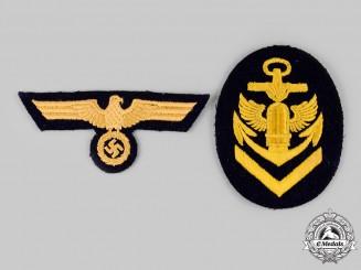 Germany, Kriegsmarine. A Pair of Insignia
