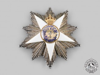 Egypt, Kingdom. An Order of the Nile, I Class Grand Cordon Star, c.1935