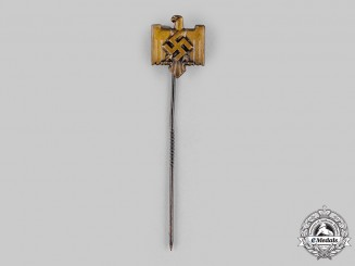 Germany, NSRL. A National Socialist League of the Reich for Physical Exercise Membership Stick Pin