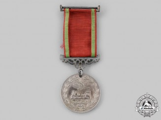 Turkey, Ottoman Empire. A Hejaz Railway Medal, III Class, Reduced Version, c.1910
