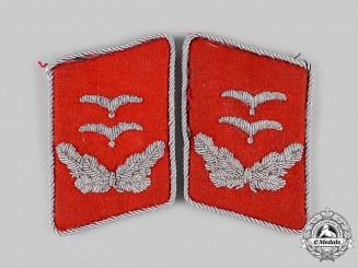 Germany, Luftwaffe. A Set of Flak Oberleutnant Collar Tabs