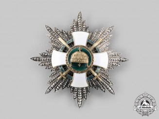 Hungary, Regency. An Order of the Holy Crown, Grand Cross Star with War Decoration & Swords