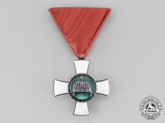 Hungary, Regency. An Order of the Holy Crown, V Class Knight, c.1942