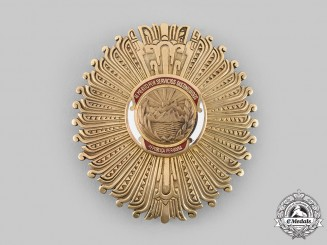 Peru, Republic. A Distinguished Service Order, Grand Cross Star, c.1950