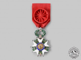 France, III Republic. An Order of the Legion of Honour, IV Class Officer, c.1950