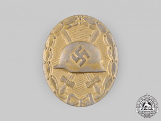 Germany, Wehrmacht. A Wound Badge, Gold Grade, by Eugen Schmidthäussler