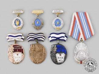 Romania, Socialist Republic. Seven Awards & Decorations