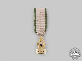 Austria, Empire. An Order of the Iron Crown in Gold, Miniature, c.1820